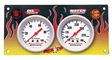 Gauge Panel, Accutech Sportsman, Flames