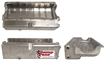 Dry Sump Pan, Aluminum, 2 -12, Forward, Chevy