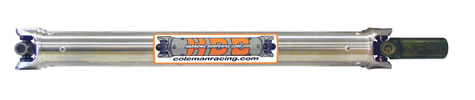 Drive Shaft, HDC, Aluminum, With Yoke, 1310 Series