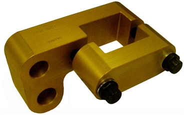 "J-Bar Slider, Dual Hole, 1-1/4"" Drop"
