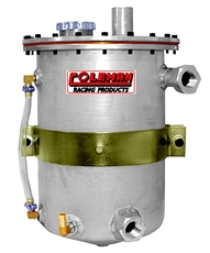 Dry Sump Tank, 3 Gallon, With Breather Tank